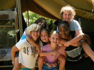 Echo Hill Tent | Maryland Summer Camps
